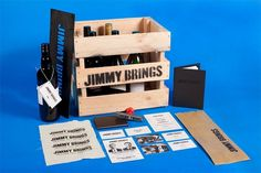 «Studio Sammut — Jimmy Brings» в потоке «Брендинг / Айдентика» — Посты на сайте Losko #sammut #identity #studio