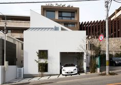 Skip Floor House by Kenji Yanagawa #architecture #minimalist house