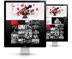 Site Agence Rouge - 13decembre - Séverin Boonne #agency #webdesign