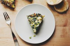 Cafe Menu | Possibly spruced up with some bacon | Chard & Leek Fritata from Sprouted Kitchen