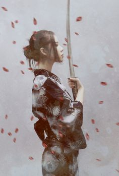 Chicks With Blades #samurai #japan