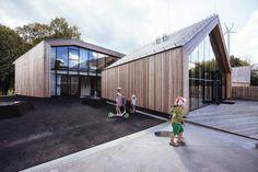 Sluzewski Culture Centre by 307kilo Architects