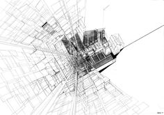 The Continuous Monument II EXPLODED AXO #architecture