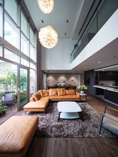 Renovation of a Two-Storey Apartment in Hanoi by Flat6 Architects
