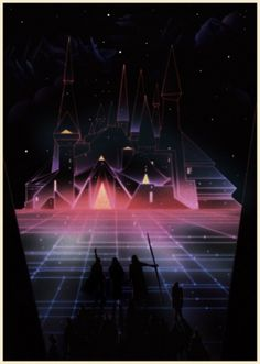 KILIAN ENG / DW DESIGN #tron #retro #futuristic #scifi #glow #kilian #eng