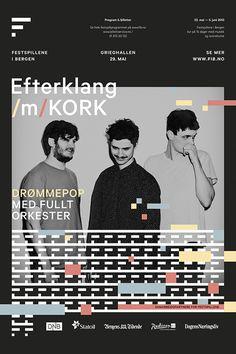Bergen International Festival on Behance #identity