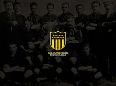 Branding Club Atlético Peñarol on the Behance Network #montevideo #uruguay #penarol #bicco #fabian #atletico #club