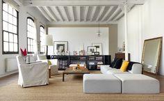 miss design interior new york style barcelona loft 1