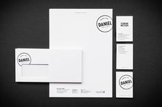 moodley brand identity hotel daniel #stationary #hotel #branding