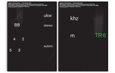 NBBS_LBB_802_Series_framed #braun #neubau #poster #typography