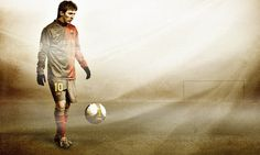 Fantasy Football Lionel Messi Ball Field Download Wallpapers For Pc – WallpapersBae