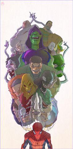 Sensing Evil by CoranKizerStone on deviantART #kizer #spiderman