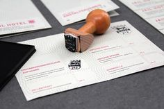 Looks like good Graphic Design by LEIB UND SEELE #stamp #pattern #design #invitations #stationery