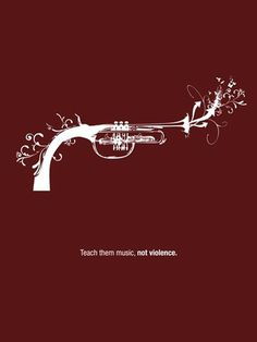 joshuamurphy.com — Teach them music, not violence. #illustration
