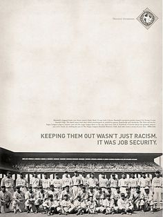 Negro Leagues Baseball Museum posters #vintage #advertising #posters #baseball