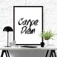 Carpe Diem #iloveprintable #poster