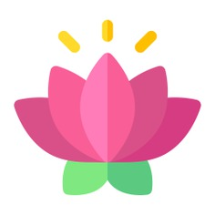 See more icon inspiration related to lotus, flower, buddha, chakra, wellness, lotus flower, cultures, botanical, hinduism, garden, meditation, blossom, oriental and nature on Flaticon.