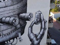 Phlegm. Robot, Ibiza #murals