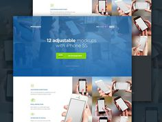 New Mockuuups by David Stefanides #page #site #design #product #web #landing