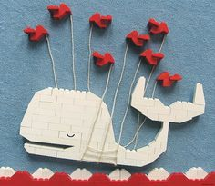 Mike Doyle's reMOCable #whale #lego