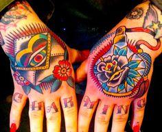 Steve Byrne Tattoo #tattoo #hand tattoos