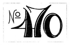Agency26 - Custom Letters Blog — #vintage #type #retro #number #rough