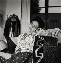 Frida Kahlo in Mexico City, 1951