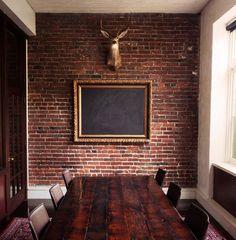 thatkindofwoman:Chalk board room.