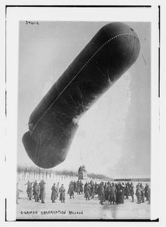 All sizes | German observation balloon (LOC) | Flickr - Photo Sharing! #balloon #german #observation