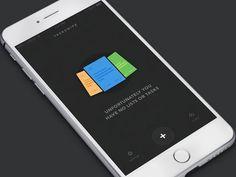 Dark Theme Task App #tasking #task #mobile #ios #mobile