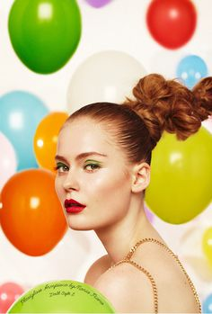 A BALLOON AFFAIR #model #make #styling #photography #up #fashion