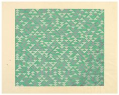 The Josef & Anni Albers Foundation #geometric #1969 #anni albers #study #for #triadic #ii #gouache #on #blueprint #paper