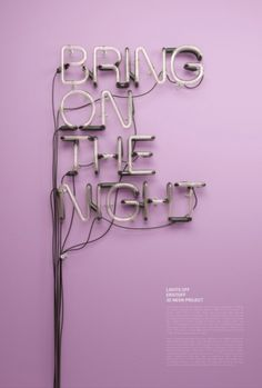 Typeverything.com - 3D Neon by Rizon Parein (via... - Typeverything