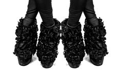Chrissie Houtkooper / designer / illustrator #white #shoes #print #graphic #black #fashion