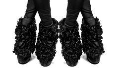 Chrissie Houtkooper / designer / illustrator #white #shoes #print #graphic #black #fashion