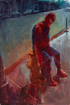 William Wray | PICDIT #painting #superhero #artist #art
