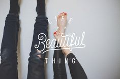 Life Is A Beautifull Thing #lettering #hand #life #typography