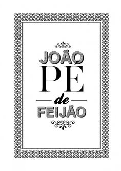 João Pé de Feijão on Typography Served #pattern #white #black #ornament #and