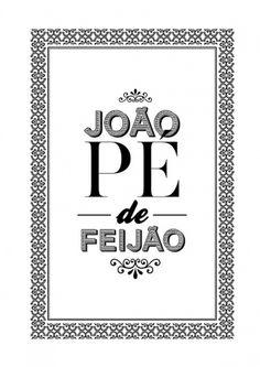 João Pé de Feijão on Typography Served