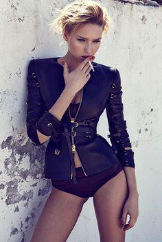 Adriana Cernanova by Branislav Simoncik for Elle Czech