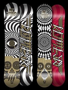 725361209827059.jpg (600×796) #artwork #graphics #patterns #snowboard