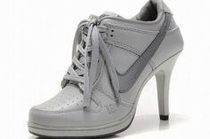 Nike Dunk SB Low Heels Grey #shoes