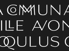Real ligatures by Sandro Dujmenovic #ligatures #typography