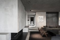 Concrete Penthouse in Antwerp by Vincent Van Duysen 1