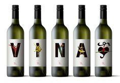 Packaging | Prima Vina « Layman's layout #print #label #wine