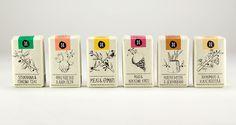 Helleo / Natural soaps on Behance #soap #packaging #natural #organic #handmade #illustration
