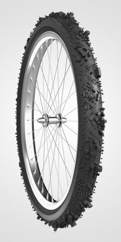 City and bike lane tire tread, aislan:rodaek #tread #transit #tire #city #lane #wheel #bike