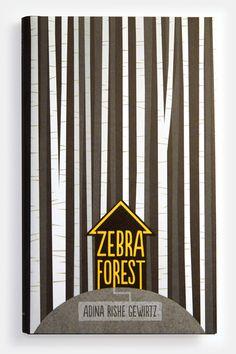 Zebra Forest - Matt Roeser #cover #design #book