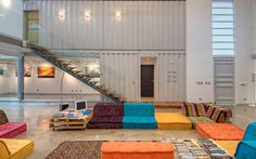 Shipping containers house Incubo by Maria Jose Trejos - HomeWorldDesign (20) #inspiration #eco-friendly #house #container #design #architecture