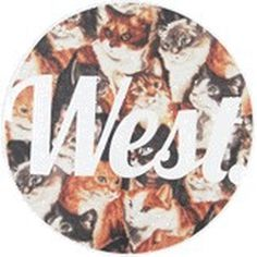 West Clothing #design #graphic #tshirt #floral #paisley #cats #aztec #type
